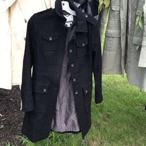 Banana republic black coat